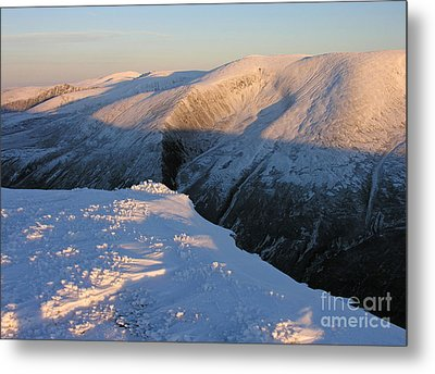 Early Winter Cairngorms Metal Print