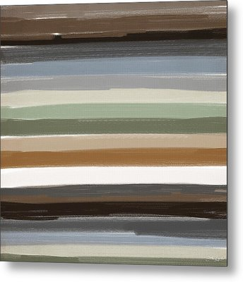 Earth Colors Metal Print by Lourry Legarde