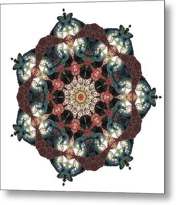 Earth Nest Metal Print by Lisa Lipsett
