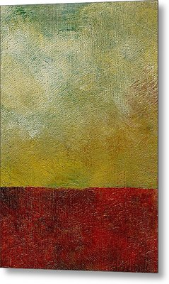 Earth Study One Metal Print by Michelle Calkins