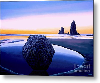 Earth Sunrise Metal Print by Paul Meijering
