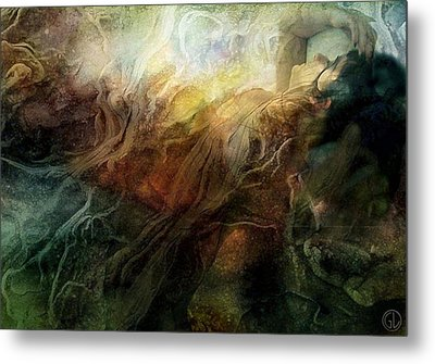 Earthborn Metal Print by Gun Legler