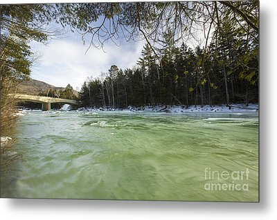 East Branch Of The Pemigewasset River - Lincoln New Hampshire Usa Metal Print by Erin Paul Donovan