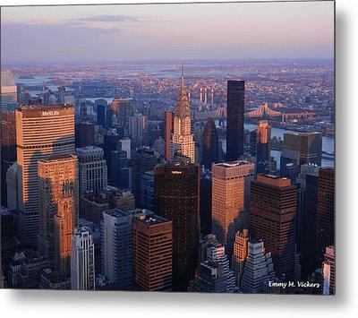 East Coast Wonder Aerial View Metal Print