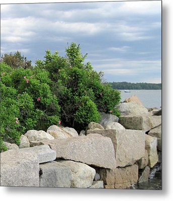 East End Boat Launch Metal Print by Patricia E Sundik