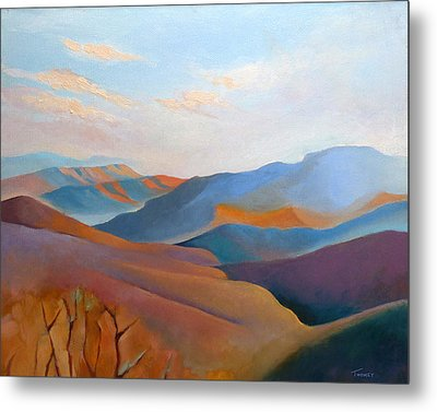 East Fall Blue Ridge No.3 Metal Print