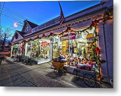 East Moriches Hardware Metal Print