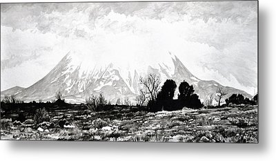 East Spanish Peak Metal Print