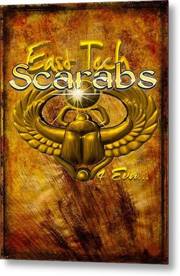 East Tech Scarabs4eva Metal Print