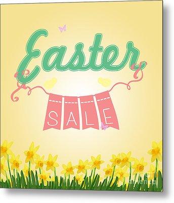 Easter Sale Metal Print