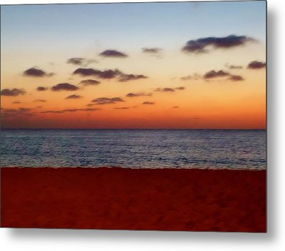Metal Print featuring the photograph Easter Sunset by Amar Sheow