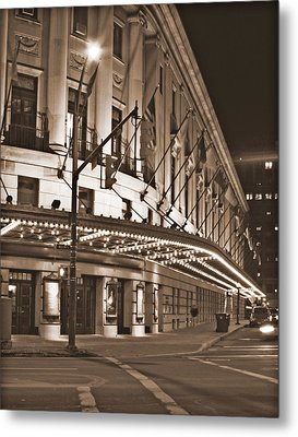 Eastman Theater Metal Print by Richard Engelbrecht
