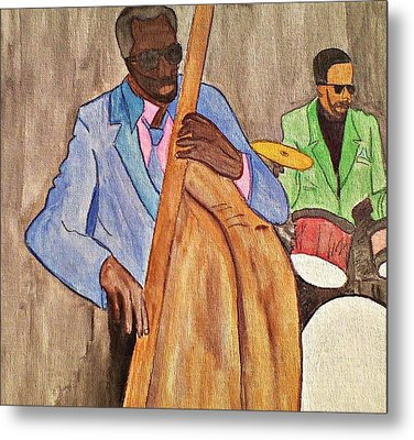 Easy Listening Metal Print by Lew Griffin