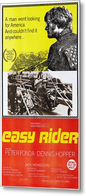 Easy Rider, Australian Poster, Peter Metal Print by Everett