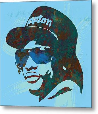 Eazy-e Pop  Stylised Art Sketch Poster Metal Print