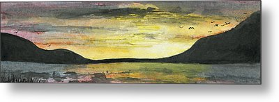 Ebb Of Sol Metal Print