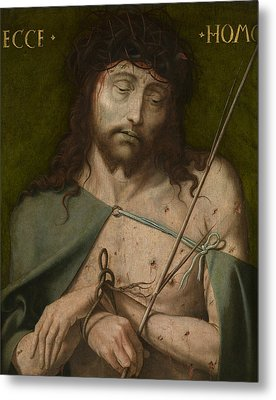 Ecce Homo   Metal Print by  Old Master