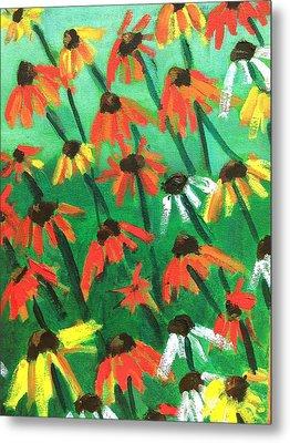 Echinacea Metal Print by Kendall Wishnick Adams