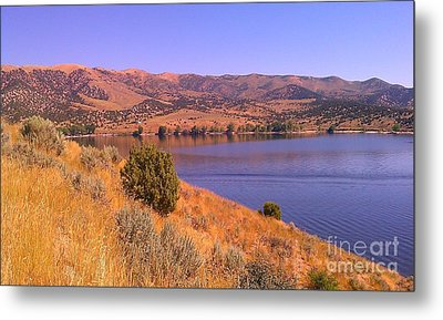 Echo Reservoir Utah Metal Print by Chris Tarpening