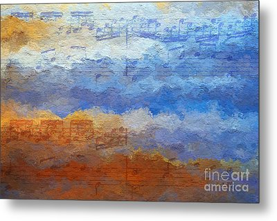 Echoes Of Earth And Sky Metal Print by Lon Chaffin