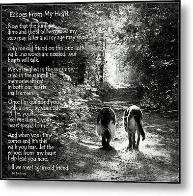 Echos From My Heart Metal Print