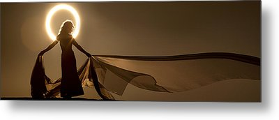 Eclipse Angel Metal Print