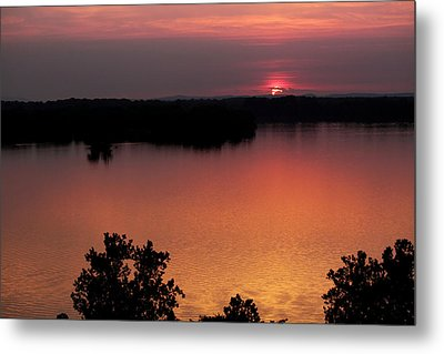 Eclipse Of The Sunset Metal Print by Jason Politte
