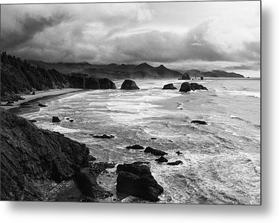 Metal Print featuring the photograph Ecola State Park by Photography  By Sai