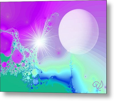 Metal Print featuring the digital art Ecstasy by Ute Posegga-Rudel