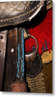 Ecuador Saddle Metal Print by Chad Simcox