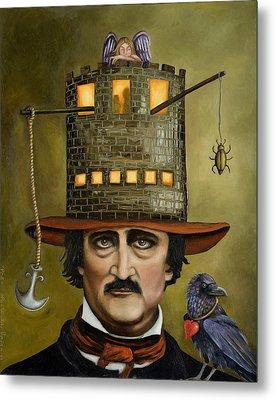 Edgar Allan Poe Updated Image Metal Print
