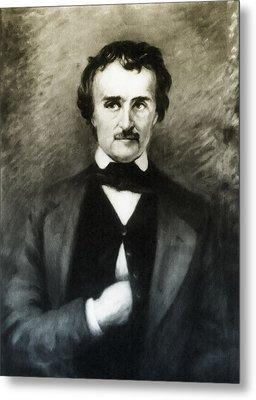 Edgar Allen Poe  Metal Print by Bill Cannon