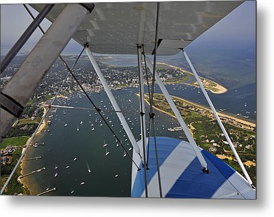 Metal Print featuring the photograph Edgartown Harbor by Dan Myers