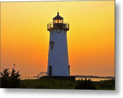 Metal Print featuring the photograph Edgartown Light by Dan Myers
