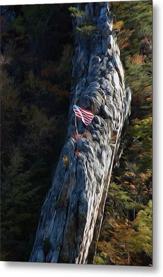 Metal Print featuring the digital art Edge Of The Ledge by Kelvin Booker
