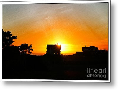 Edge Of The Mendocino Headlands Metal Print