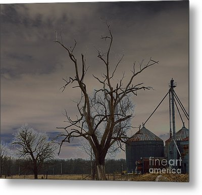 Edge Of The Storm Metal Print by Alys Caviness-Gober