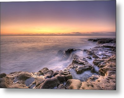 Edge Of The World Metal Print by Anthony Citro