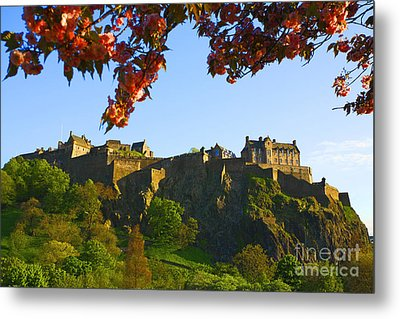 Edinburgh Castle  Metal Print by Craig B