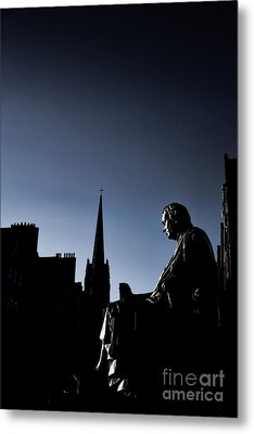 Metal Print featuring the photograph Edinburgh Royal Mile by Craig B