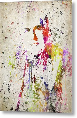Edison In Color Metal Print by Aged Pixel