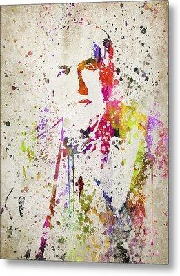 Edison In Color Metal Print