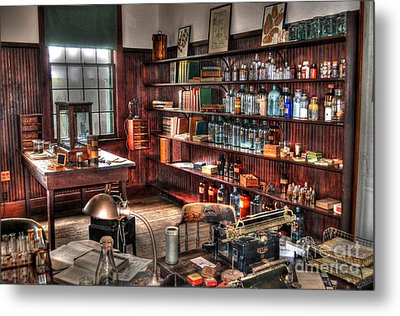 Edison's Lab Metal Print by Timothy Lowry