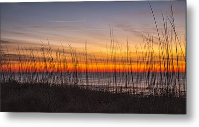 Edisto Beach Sunrise 02 Metal Print