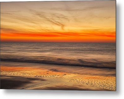 Edisto Beach Sunrise 10 Metal Print