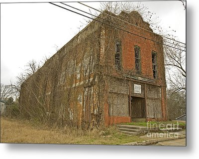 Edwards Store Metal Print by Russell Christie