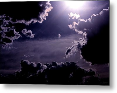 Metal Print featuring the photograph Eerie Afternoon Sky by Amanda Holmes Tzafrir