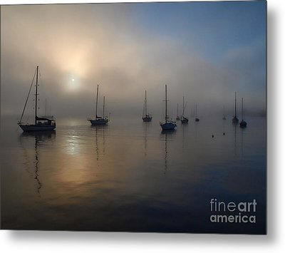 Eerie Sunrise Metal Print