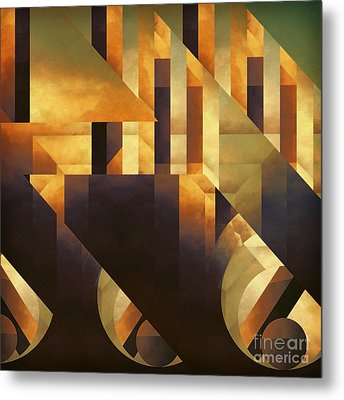 Effective Fragments Metal Print by Lonnie Christopher