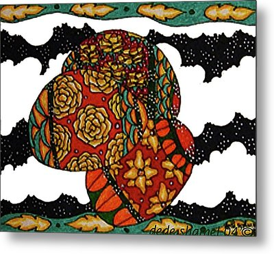 Eggs In The Clouds Metal Print by Dede Shamel Davalos